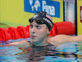 Katie Ledecky Shocks the World ... but Not How You Might Think