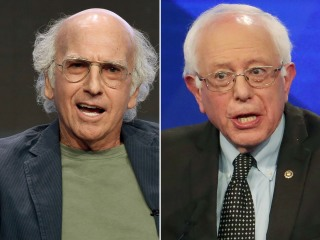Larry David and Bernie Sanders Are Apparently Distant Relatives
