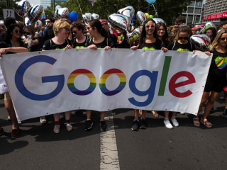 Google, Microsoft Among Companies Urging Court to Back Gay Workers
