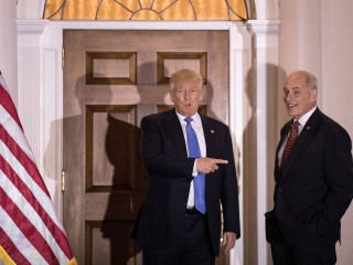John Kelly, Retired Four-Star General in Line with Trump