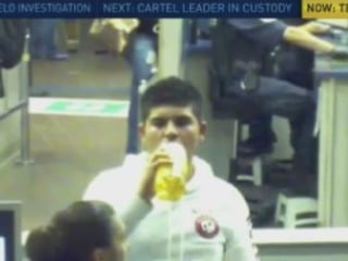 Fatal Sip: Images Show Teen Drinking Liquid Meth at Border