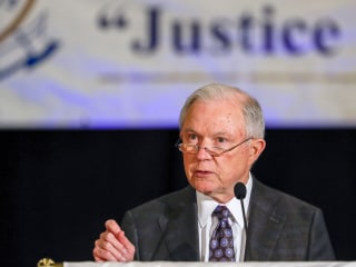 After Trump's Use of Force Quip, Sessions Tells Police to Be 'Lawful'