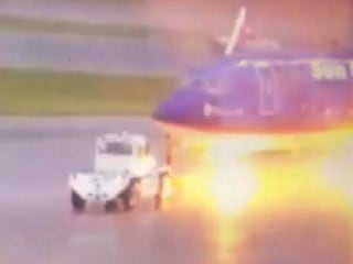 Lightning Bolt Sends Florida Airport Ground Worker to Hospital