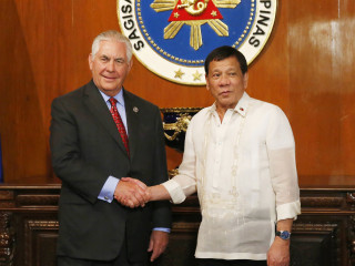 Philippines' Duterte to Tillerson: 'I Am Your Humble Friend'