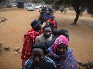 Kenyans Take to the Polls
