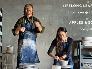 Chip and Joanna Gaines unveil cover of new gratitude-themed 'Magnolia Journal'