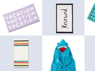 Where to buy the best end-of-season beach towels for under $50