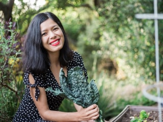 Toni Okamoto Wants to Teach You How to Live a 'Plant-Based' Life