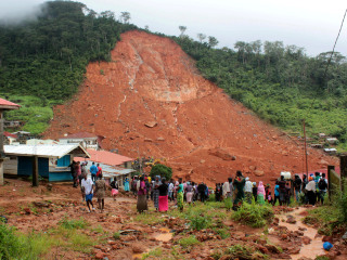 Sierra Leone Mudslide: 300 Dead; Red Cross Believes 600 Missing