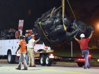 Baltimore Takes Down Four Confederate Statues After Charlottesville Violence