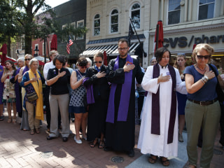 Heather Heyer Memorial: Charlottesville Mourners Honor Woman Killed at Virginia Rally