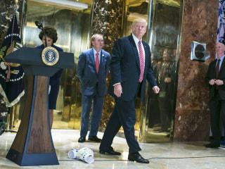Trump's Presidency Enters Uncharted Waters