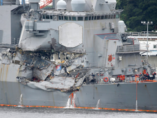 Navy Punishes Leadership of USS Fitzgerald Following Deadly Collision Off Japan