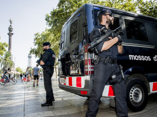Spain Terror: Suspect in Barcelona Attack Named, Subject of Europe-Wide Search