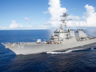 Navy Destroyer USS John S. McCain Collides With Merchant Ship East of Singapore