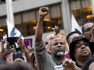 Colin Kaepernick Rally Draws Huge Crowd Outside NFL Headquarters