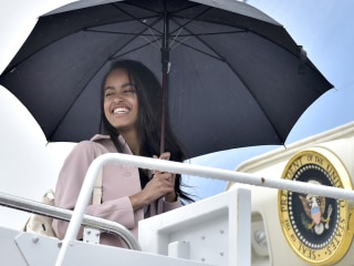 Moon's Path In Front of Sun Eclipsed Malia Obama's Harvard Move-In