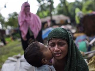 Over 123,000 Rohingya Refugees Flee Violence in Myanmar