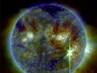 Sun Fires Off Biggest Solar Flare in More than a Decade