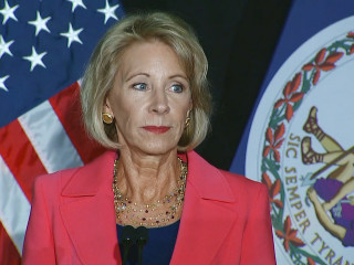 DeVos' Change to Title IX Guidance on Sex Assault Investigations Prompts Suit