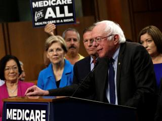 Trump Says Sanders' Health Care Plan Would Visit 'Curse' Upon U.S.