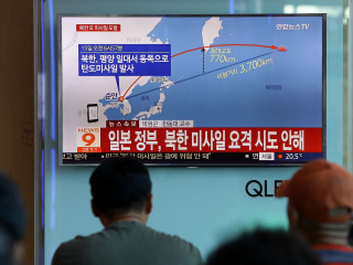 North Korea Fires Ballistic Missile Over Japanese Airspace Again