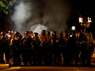 St. Louis Protests Turn Violent After Ex-Officer Acquitted in Killing of Black Man