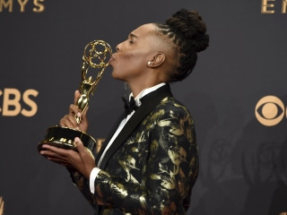 Lena Waithe Soaks Up Her History-Making Emmy Win and Calls Out TV On Its Queer Problem