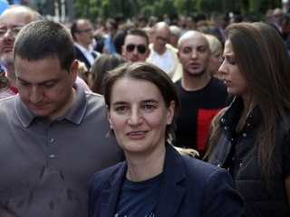 Serbia's First Openly Gay Prime Minister Attends Belgrade Pride March