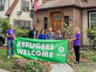Trump's Childhood Home Becomes Crash Pad for Refugees After Oxfam Rents