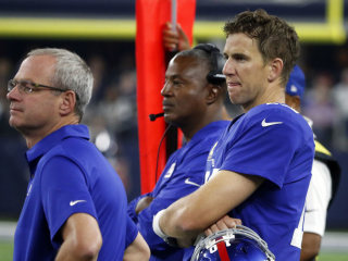 Eli Manning Ripped by Giants Head Coach for 'Sloppy' Play