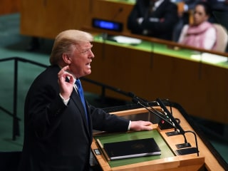Trump Threatens to 'Totally Destroy' North Korea in First U.N. Speech