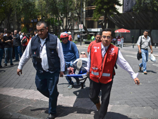 Powerful Earthquake Shakes Mexico City