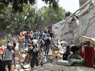 Mexico Earthquake: More Than 225 Dead After Powerful Temblor Collapses Buildings
