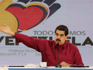 Maduro Calls Trump 'Hitler' After U.S. President Slams Venezuela at UN