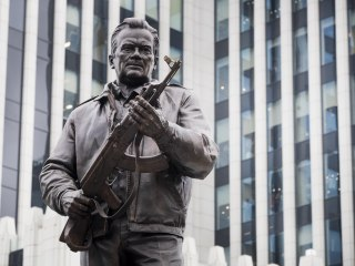 Russia Unveils Monument to Mikhail Kalashnikov, Designer of Iconic AK-47 Rifle