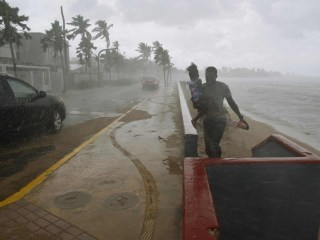 Hurricane Maria Lashes Storm-Battered Caribbean