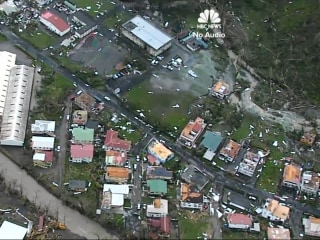 Dominica Grapples With 'Total Destruction' After Hurricane Maria