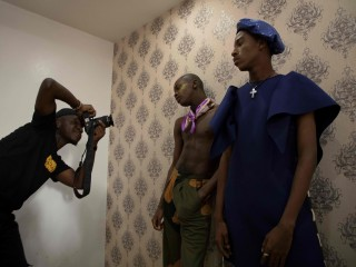 Nigerian Fashion Magazine Stirs Debate About Men in Skirts