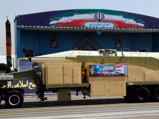 Iran Shows Off Khorramshahr Ballistic Missile After Trump Speech