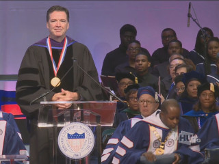 Protesters Jeer, Disrupt James Comey Speech at Howard University