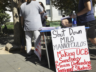 'Free Speech Week' at UC Berkeley Canceled, Milo Yiannopoulos Blames School