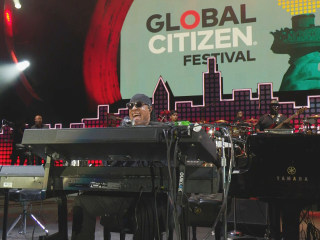 Watch Live: Stevie Wonder Performs at Global Citizen Festival