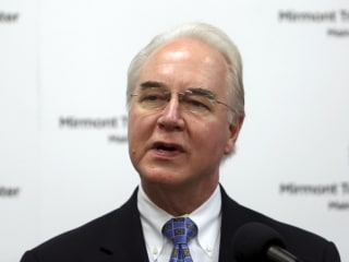 Tom Price to Stop Private Plane Use on Business During Review
