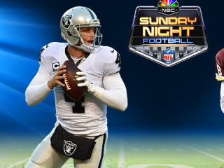 WATCH LIVE: Raiders vs. Redskins in Sunday Night Football on NBC