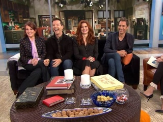 'Will and Grace' Stars Visit Megyn Kelly on TODAY