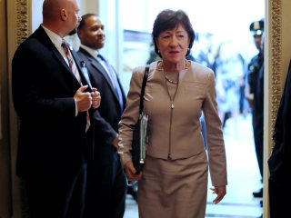 Susan Collins to Remain in Senate, Skip Governor Run