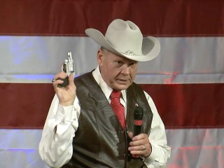Alabama Senate Race: Roy Moore Wields Revolver, as Pence Vouches for Luther Strange
