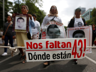 In NYC, Relatives, Activists Rally On Third Anniversary of 43 Missing Mexican Students