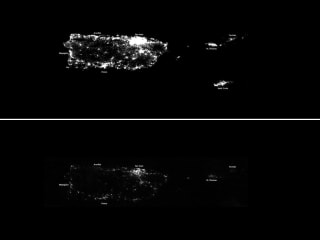 Satellite Photos Show Puerto Rico Left in the Dark After Hurricane Maria